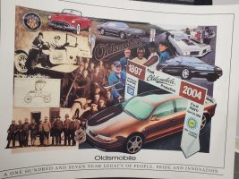 OLDS - Olds 1897-2004 Poster